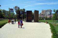 Självständighetsmonumentet, Rinia Park, Tirana.