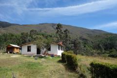 Bostadshus och idyllisk natur i närheten av Hostal Renacer, Villa de Leyva.