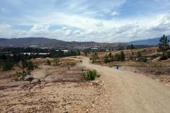 På väg ner till Pozos Azules, Villa de Leyva.