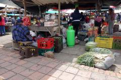 Ölförsäljning på Plaza de Mercado, Villa de Leyva.