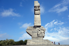 Westerplatte-monumentet, Gdańsk.