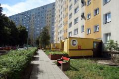 Bostadshus i Zaspa, Gdańsk.