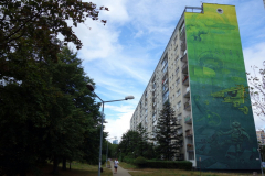 Graffiti i Zaspa, Gdańsk.