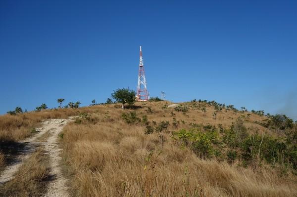 Berget Cerro de la Vigia, Trinidad.