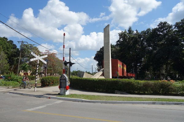 Monumento a la Toma del Tren Blindado, Santa Clara.