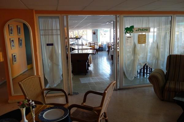 Inne på Club Herradura som jag bor på under min vistelse i Varadero.