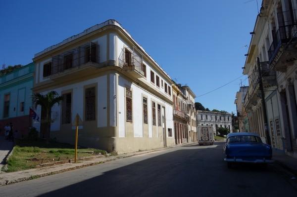 Gatuscen i stadsdelen Casablanca, Havanna.