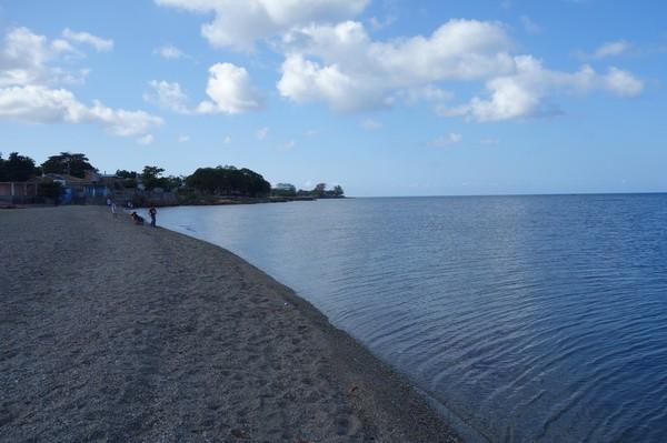 Den mysiga lilla byn La Boca mellan Trinidad och Playa Ancon.