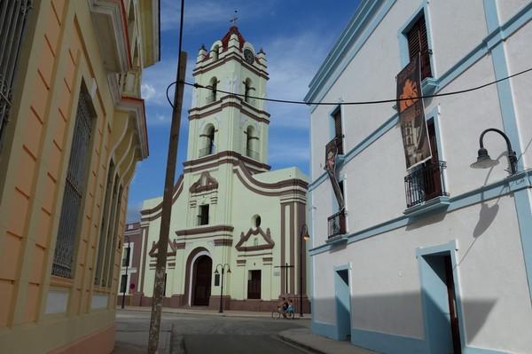 Kyrkan Iglesia de Nuestra Señora de La Merced i centrala Camagüey.