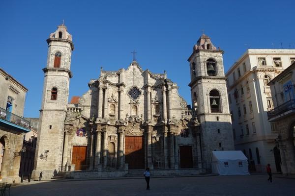 Catedral de San Cristóbal de la Habana, Plaza de la Catedral, Habana Vieja, Havanna.