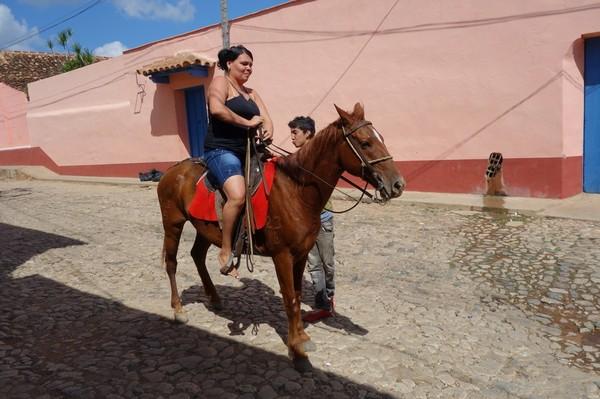 Ridning i centrala Trinindad.
