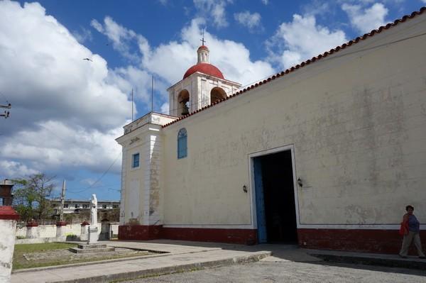 Kyrkan Iglesia de Nuestra Senora de Regla, Regla, Havanna.