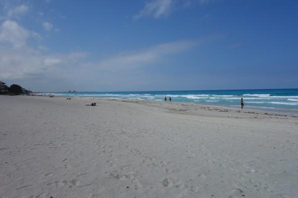 Stranden i Varadero vid hotell Club Herradura där jag bor.