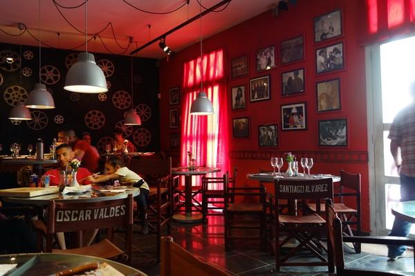 Restaurante la Isabella i centrala Camagüey.