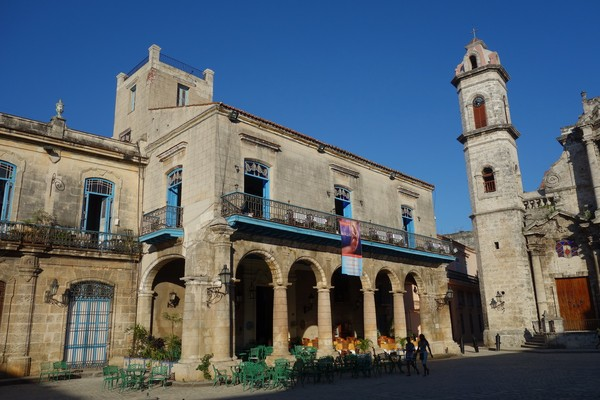 Plaza de la Catedral, Habana Vieja, Havanna.