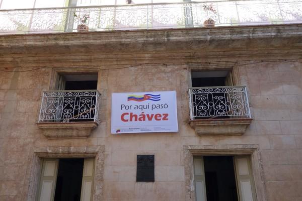 Chavez var här, Habana Vieja, Havanna.