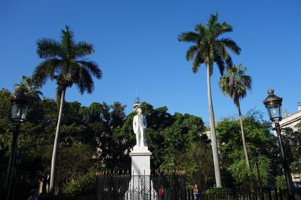 Monumento a Carlos Manuel de Céspedes, Plaza de Armas, Habana Vieja, Havanna.