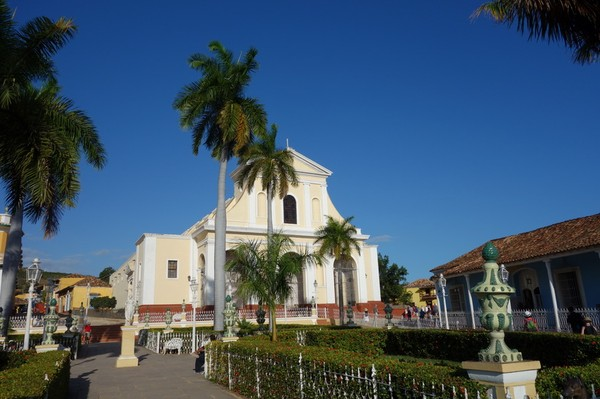 Den magnifika koloniala stadskärnan i Trinidad.