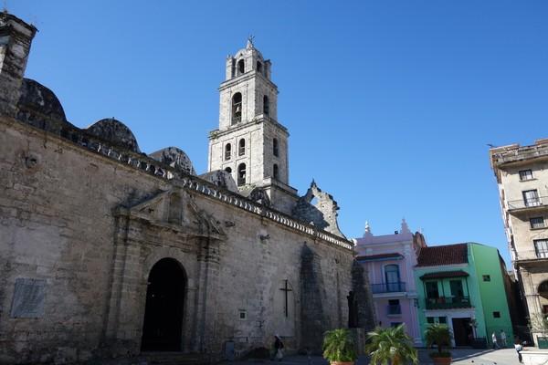 Basílica Menor de San Francisco de Asís, Plaza de San Francisco de Asís, Habana Vieja, Havanna.