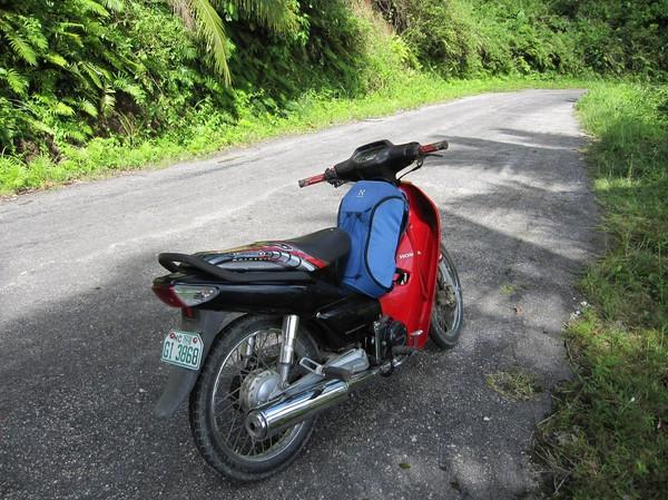 Tredje heldagen på motorcykeln nu runt Siquijor.
