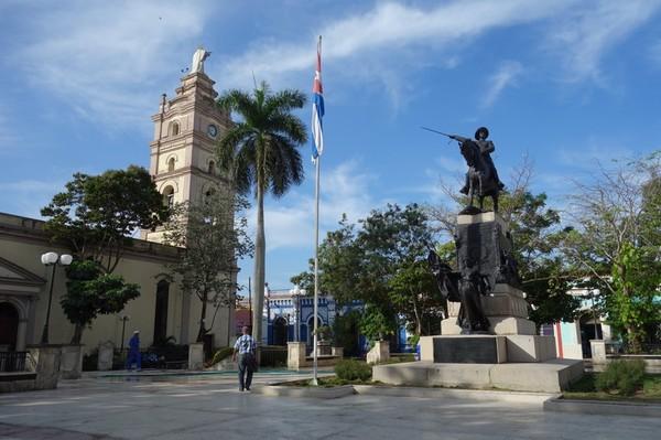 Catedral Nuestra Señora de la Candelaria vid Parque Ignacio Agramonte, Camagüey.