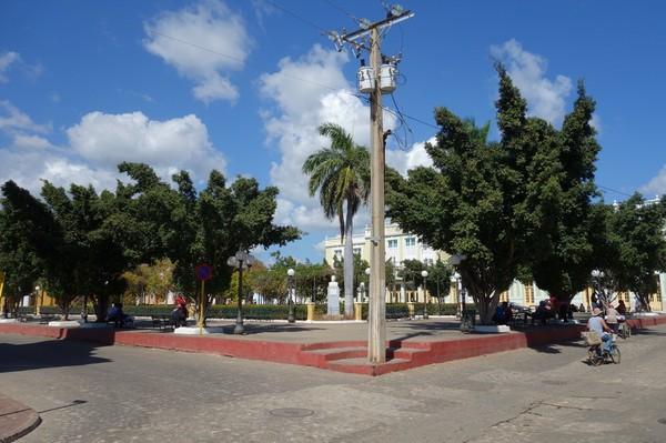 Parque Céspedes, Trinidad.