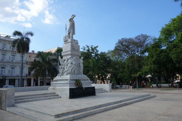 Staty av José Marti, Parque Central, Centro Habana, Havanna.