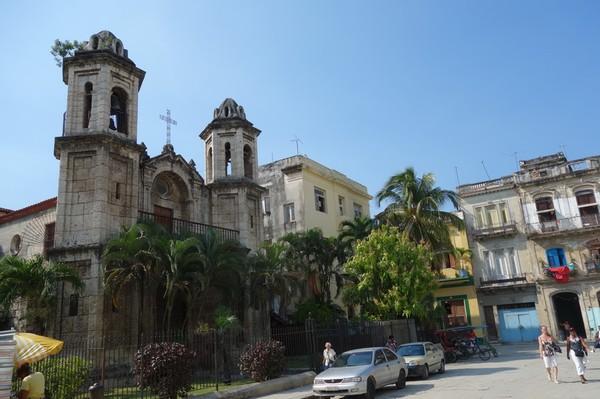 Parroquial del Santo Cristo del Buen Viaje, Plaza del Cristo, Havanna.