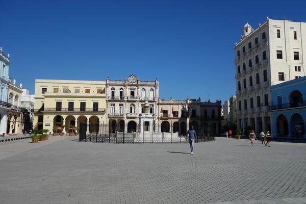 Plaza Vieja, Habana Vieja, Havanna.