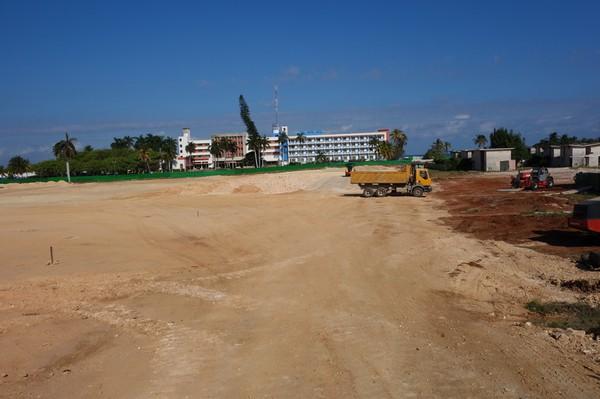 Hotellkomplex i Varadero Hotel Zone, östra Varadero.