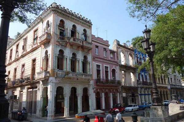 Tillbaka på Paseo del Prado där det alltid tycks finnas något nytt fint att fotografera, Havanna.