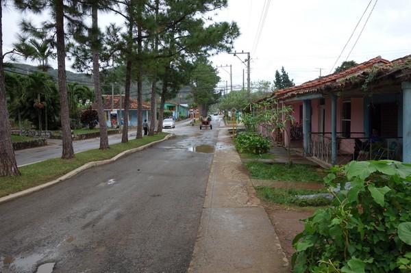 Första promenaden i centrala Viñales.