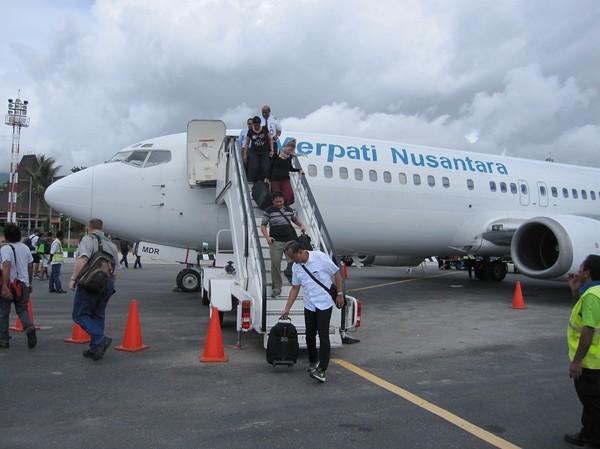 Flygplatsen i Dili, Timor-Leste.