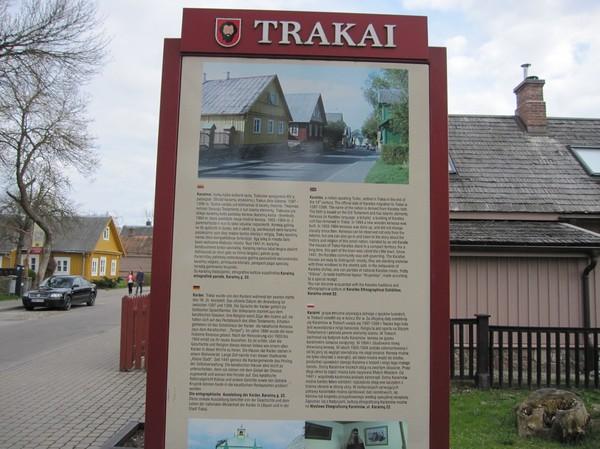 Framme i Trakai efter bussresa från Vilnius, Trakai.
