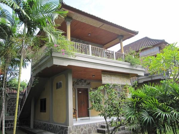 Mitt boende på Suji Bungalow, Kuta beach, Bali.
