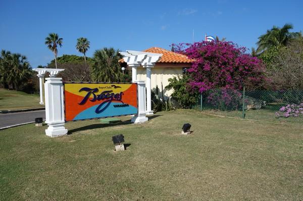 Hotellentré i Varadero Hotel Zone, östra Varadero.