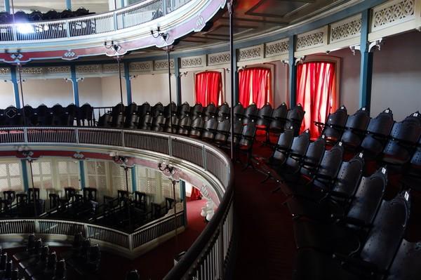 Teatro la Caridad från 1885, Santa Clara.