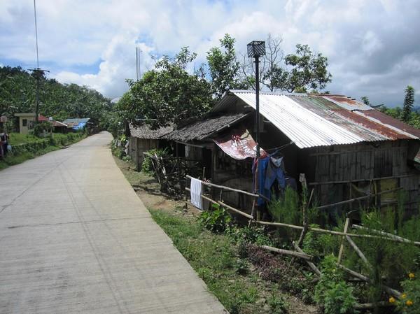 På väg ner tillbaka till Ormoc City från Lake Danao.