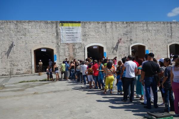 Internationell bokmässa, Fortaleza de San Carlos de la Cabana, Havanna.