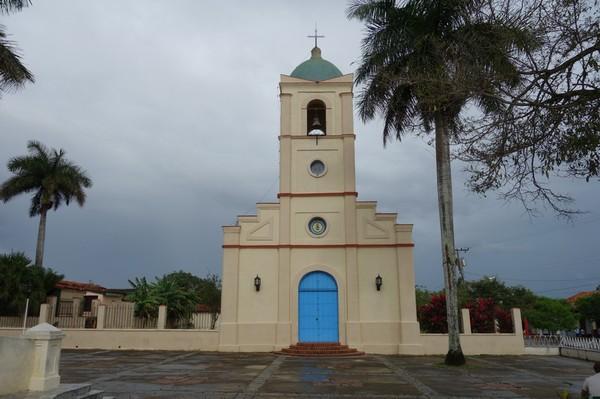 Kyrkan i centrala Viñales.