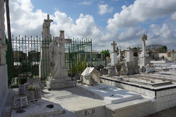 Kyrkogården Necropolis de Camagüey, Camagüey.