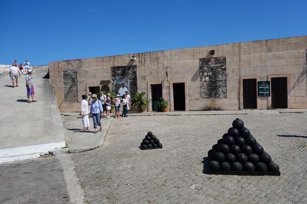 Fortaleza de San Carlos de la Cabana, Havanna.