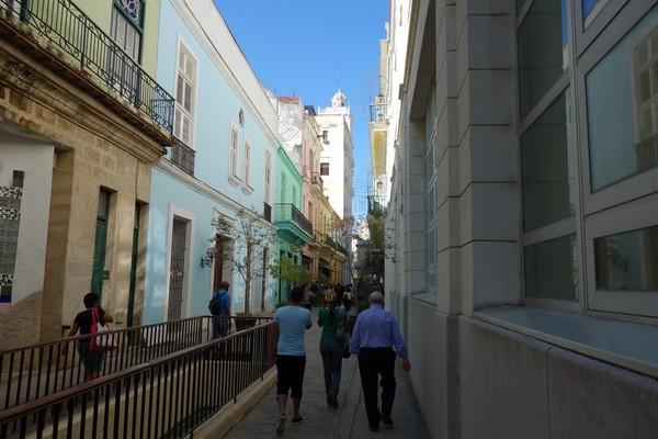 Gatuscen Habana Vieja, Havanna.