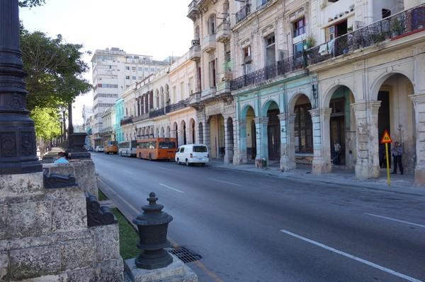 Så härligt att vara tillbaka på fina Pradon i Havanna!