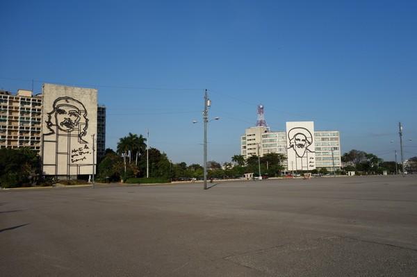 Plaza de la Revolución, Vedado, Havanna.