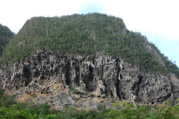 Denna mogote var speciell. Vid denna plats blev jag kvar länge, Valle de Viñales.