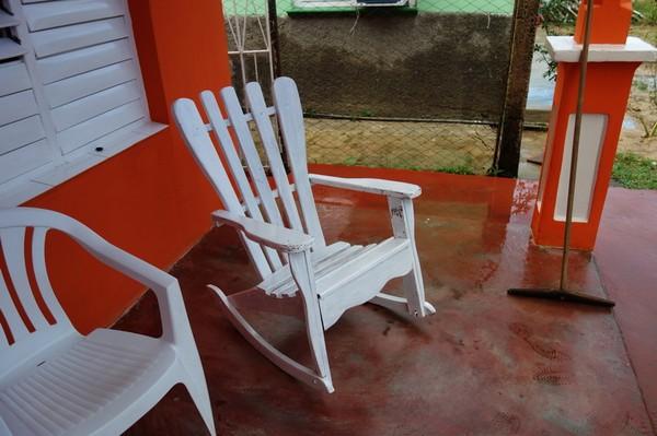 Denna typ av gungstol är extremt populär här i Viñales. Den är väldigt trevlig att sitta och koppla av i.