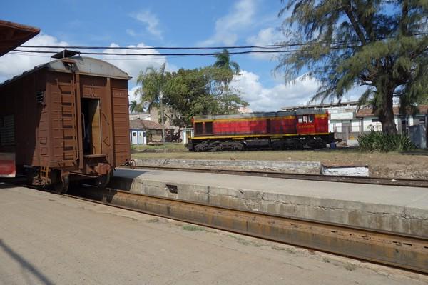 Tågstationen i Camagüey.