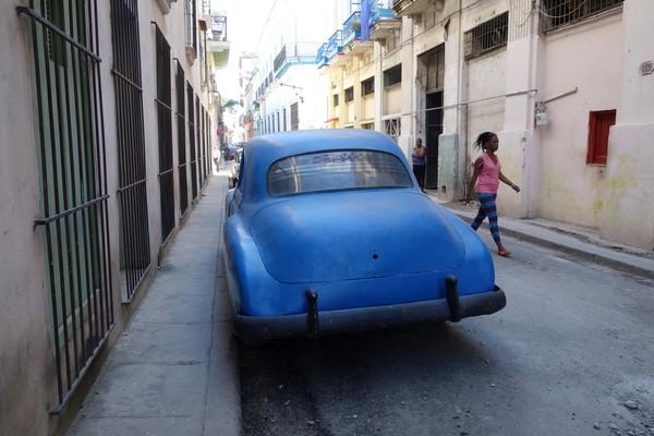 Gatuscen Habana Vieja, Havanna