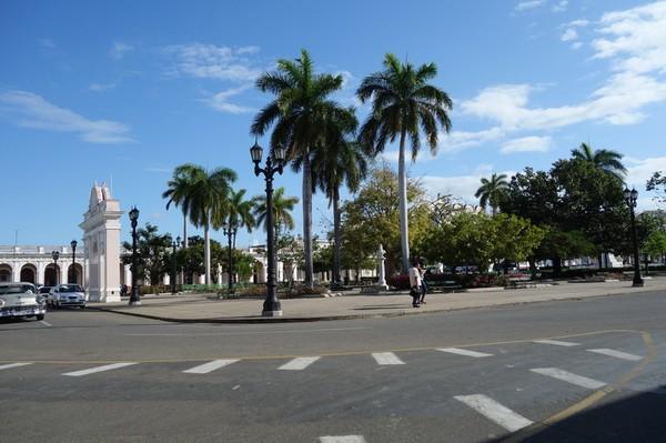 Parque José Martí, Cienfuegos.